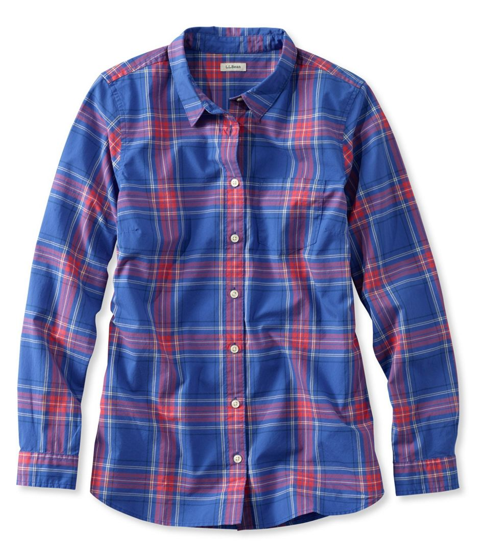 Classic Poplin Shirt, Long-Sleeve