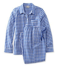 L.L.Bean Flannel Pajama Set, Gingham