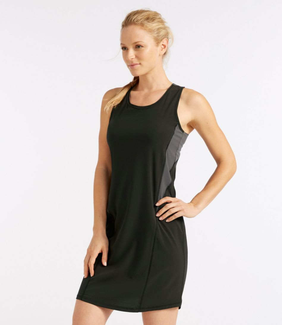 L.L.Bean Stretch Swim Cover-Up, Colorblock