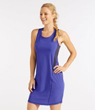 Women's L.L.Bean Stretch Swim Cover-Up, Colorblock