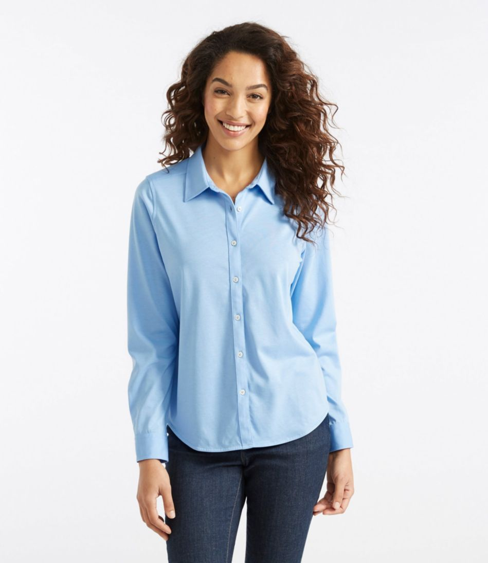 Shrink-Free Knit Shirt