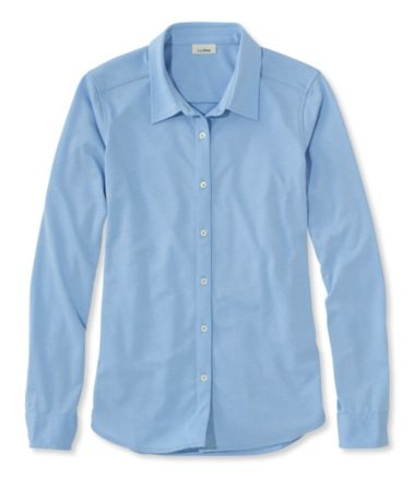 Shrink-Free Knit Shirt
