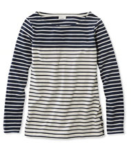 Women's Nautical Stripe Tops, Pullover Colorblock