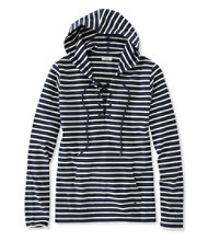 Women's Nautical Stripe Top, Pullover Hoodie