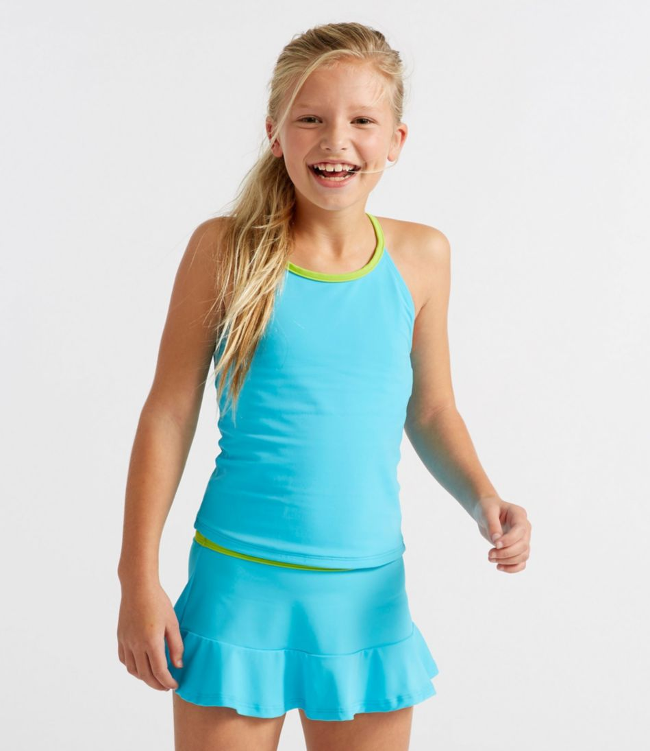 Girls' BeanSport™ Skirted Tankini