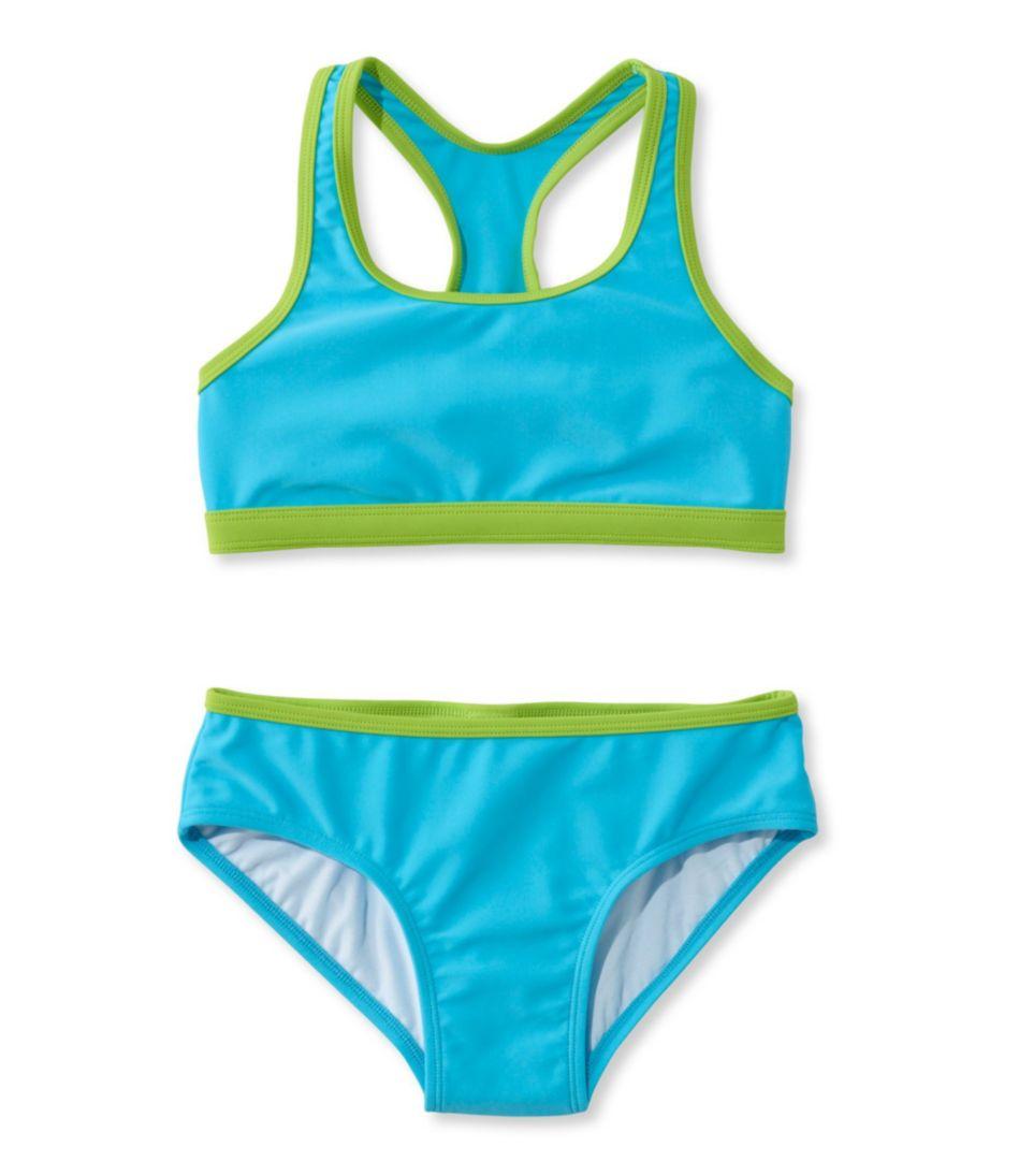 Girls' BeanSport Racer-Back Bikini