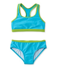 Girls' BeanSport Racer-Back Bikini