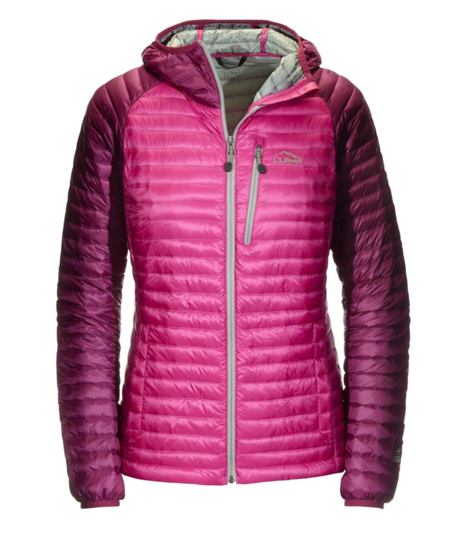 Women's Ultralight 850 Down Sweater Hooded Jacket, Colorblock