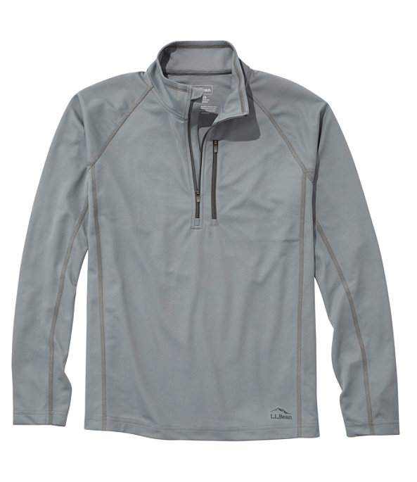 Lightweight Sport Quarter-Zip, Graystone, large image number 0