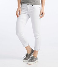 L.L.Bean Performance Stretch Jeans, Cropped Color