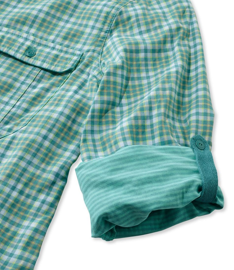 Women's Double Cloth Performance Woven Shirt