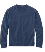 Lakewashed Garment-Dyed Sweatshirt, Crewneck Slightly Fitted