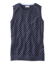 Supima-Blend Essential Shell, Print