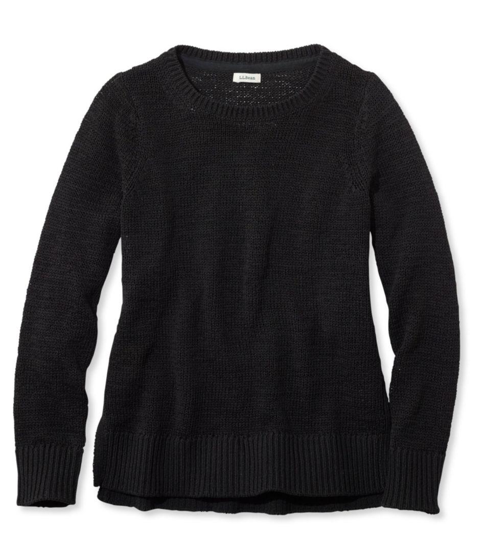 Soft Tape-Yarn Sweater, Pullover