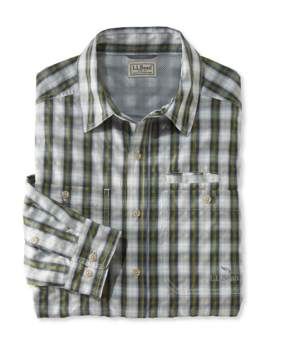 No Fly Zone Travel Shirt Plaid Men's Regular
