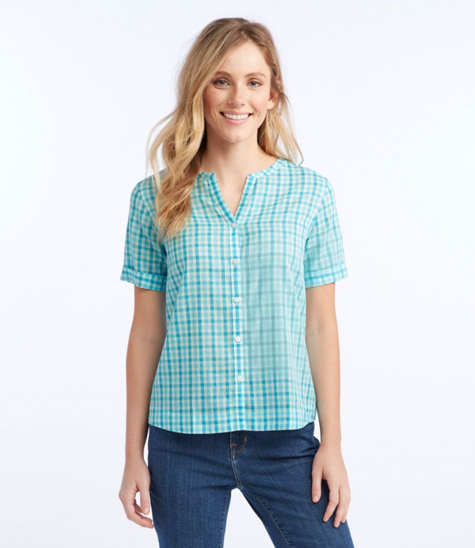 Easy Cotton Shirt, Gingham