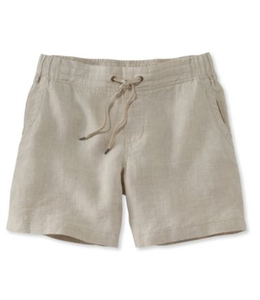 Premium Washable Linen Shorts