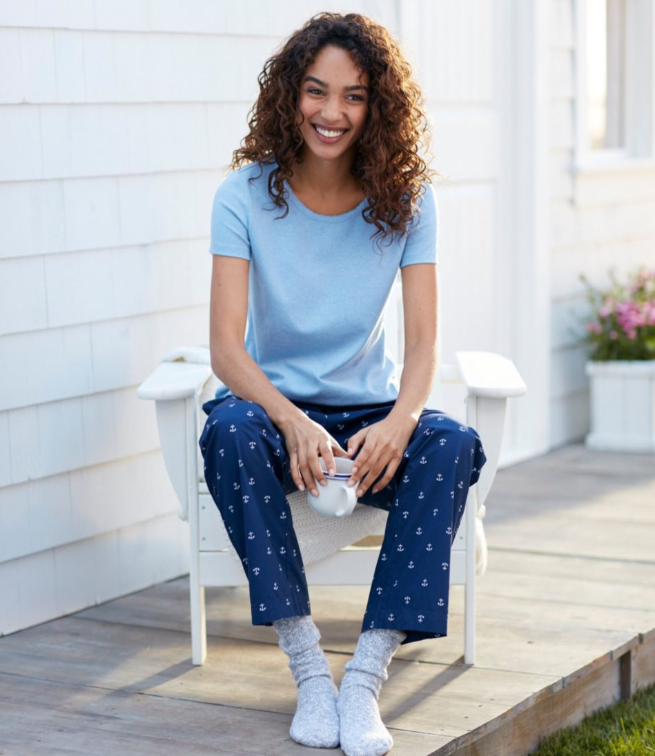 Women's Cotton Sleep Pants, Print