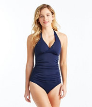 L.L.Bean Mix-and-Match Swim Collection, Halter Tankini