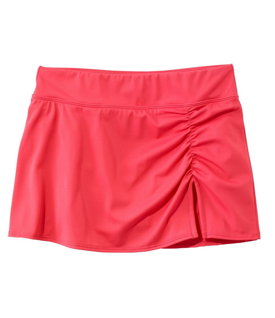 Women's L.L.Bean Mix-N-Match Swim Collection, Low-Rise Skort