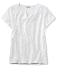 Eyelet-Trimmed Tee