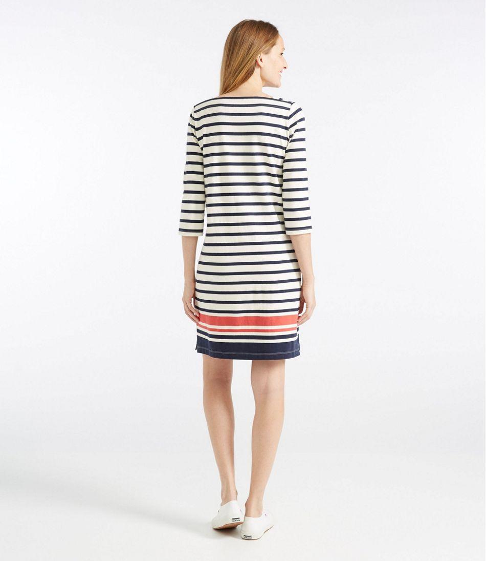 Mariner Squareneck Dress, Colorblock