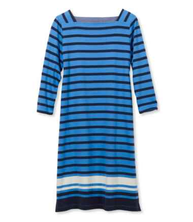 Women's Mariner Squareneck Dress, Colorblock