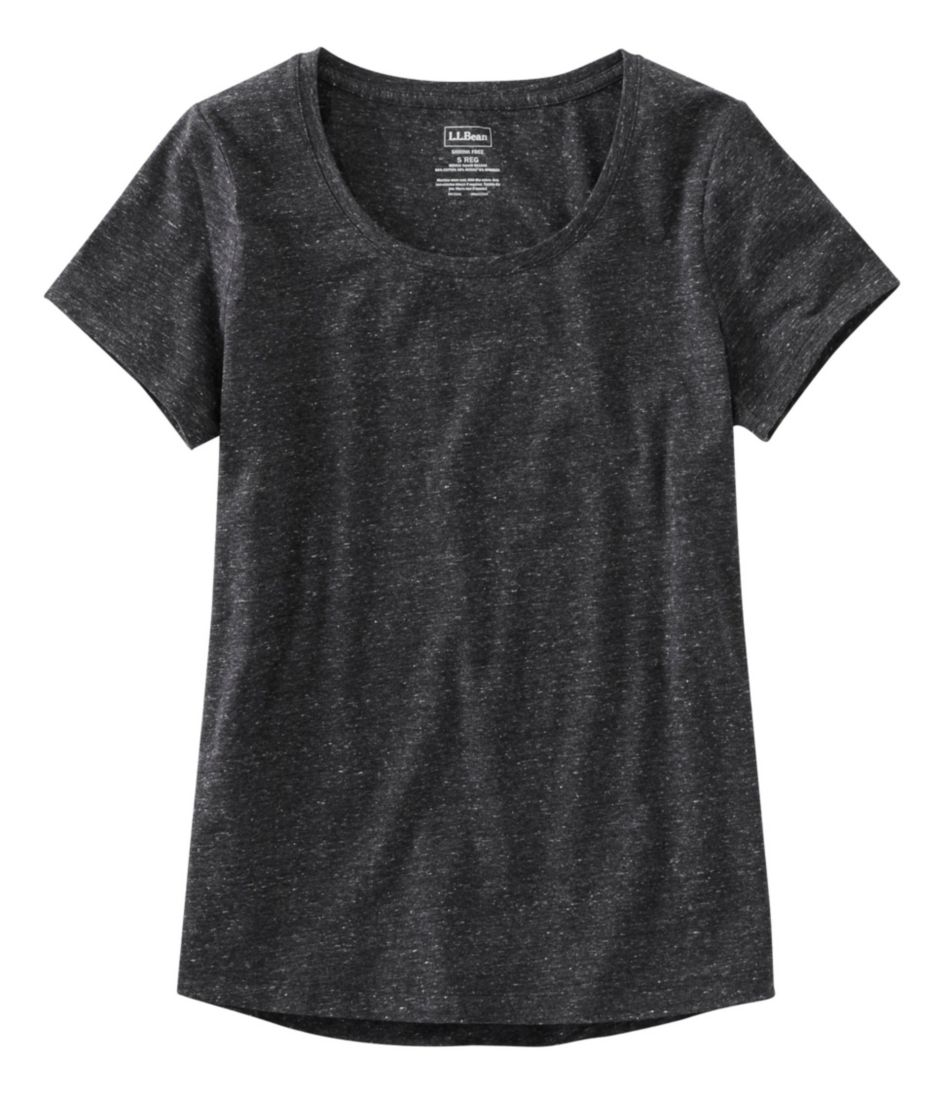 Super-Soft Shrink-Free Tee, Short-Sleeve Crewneck