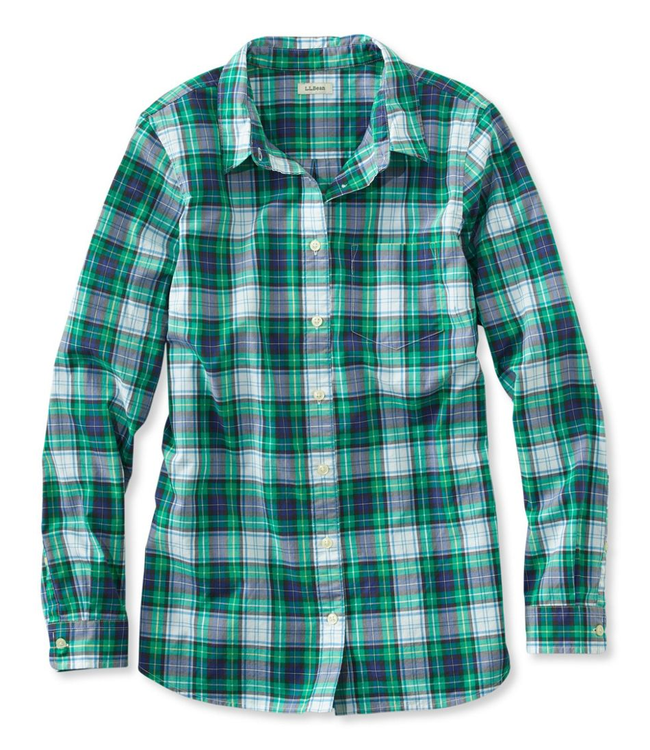 Classic Poplin Shirt, Long-Sleeve