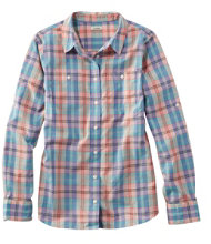 L.L.Bean Madras Shirt, Long-Sleeve