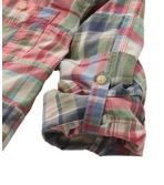 Women's L.L.Bean Madras Shirt, Long-Sleeve Patchwork
