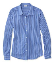 Shrink-Free Knit Shirt, Stripe
