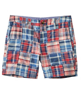 """Women's Washed Chino Shorts, 6"""" Patchwork"""