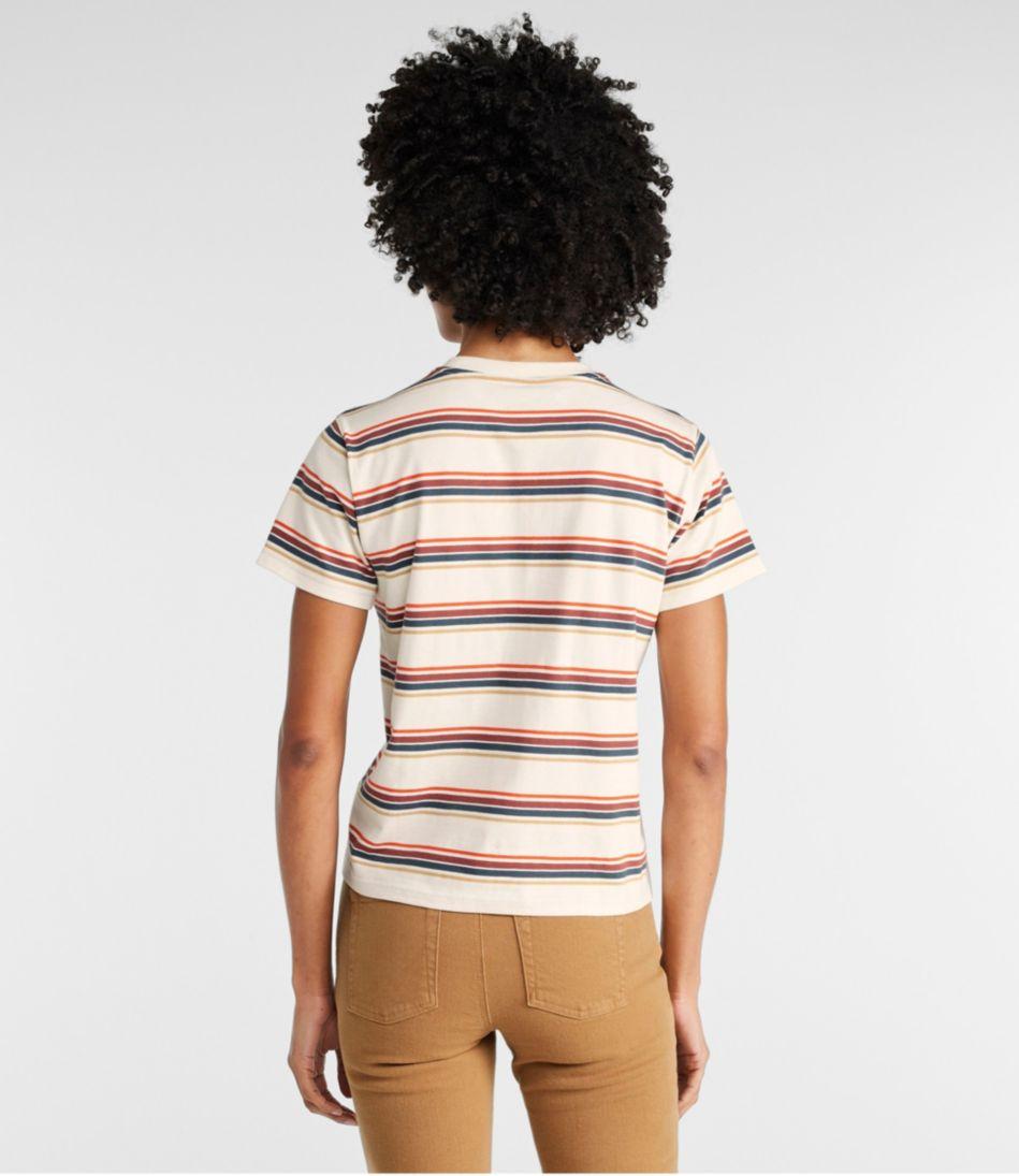 Saturday T-Shirt, Crewneck Short-Sleeve Stripe