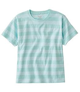 Women's Saturday T-Shirt, Crewneck Short-Sleeve Stripe