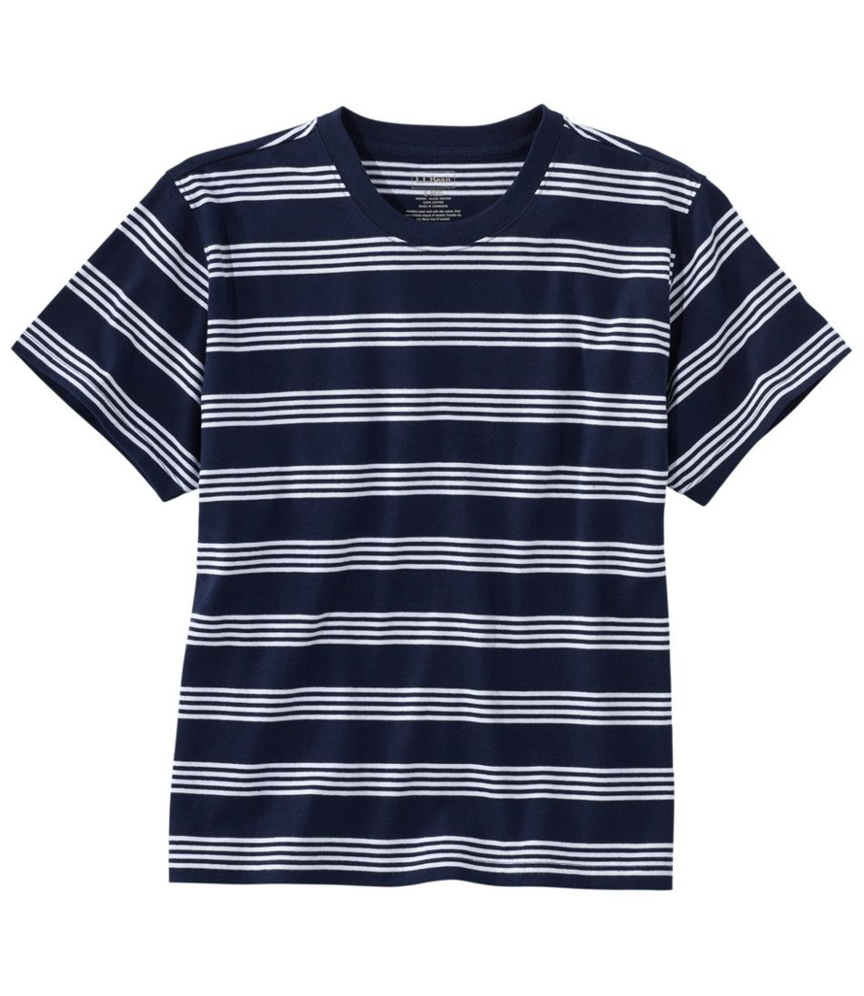 Saturday T-Shirt, Crewneck Short-Sleeve Stripe