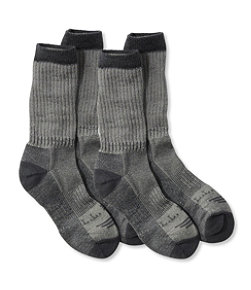 Adults' Cresta No Fly Zone Hiking Socks, Lightweight Two-Pack