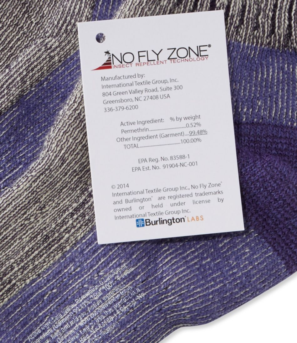 Cresta No Fly Zone Hiking Socks, Lightweight Quarter-Crew Two-Pack
