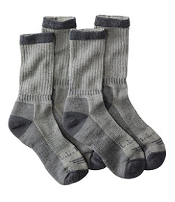 Cresta No Fly Zone Hiking Socks, Lightweight Two-Pack