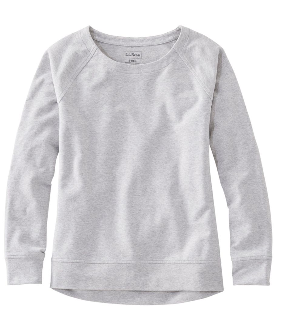 Women's Ultrasoft Sweats, Open Crewneck