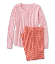 Ultrasoft Pajama Set, Long-Sleeve Stripe