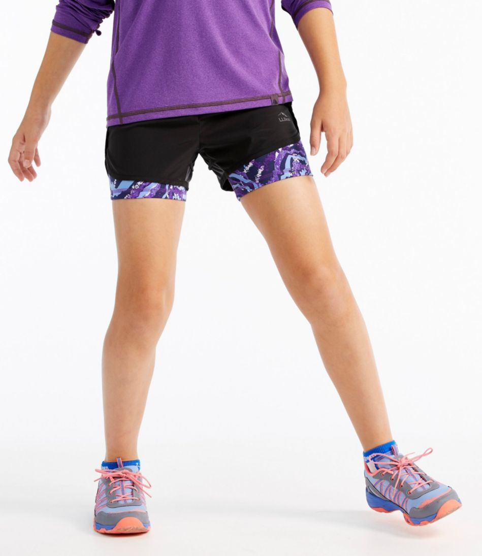 Girls' Bike Shorts, Print