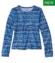 10ed484fd3 Girls' Sun-and-Surf Shirt, Long-Sleeve Print