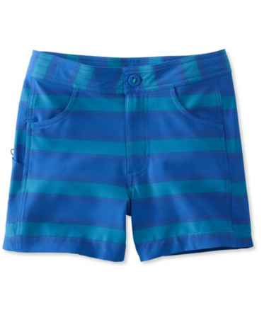 Girls' Land-to-Sea Shorts, Stripe