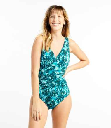 Women's Slimming Swimwear, Tanksuit Print