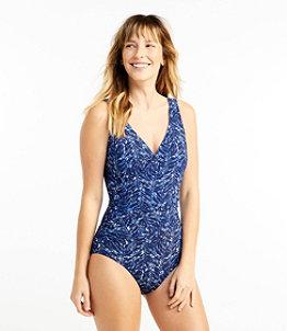 Women's Slimming Swimwear, Tanksuit Print