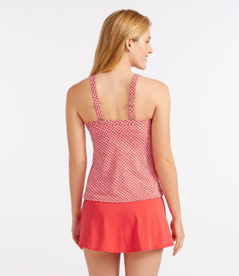 L.L.Bean Mix-and-Match Swim Collection, Sweetheart Tankini Print