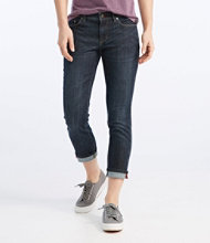 L.L.Bean Performance Stretch Jeans, Cropped