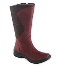 Women's North Haven Boots, Wool/Leather Tall