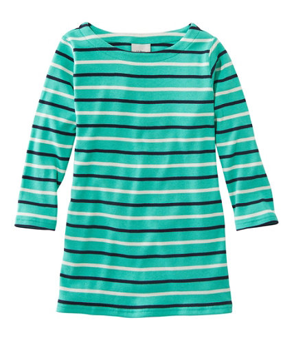 Women 39 s french sailors shirt boatneck three quarter for Striped french sailor shirt